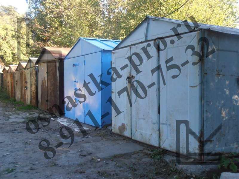 покупка гаража в Санкт-Петербурге