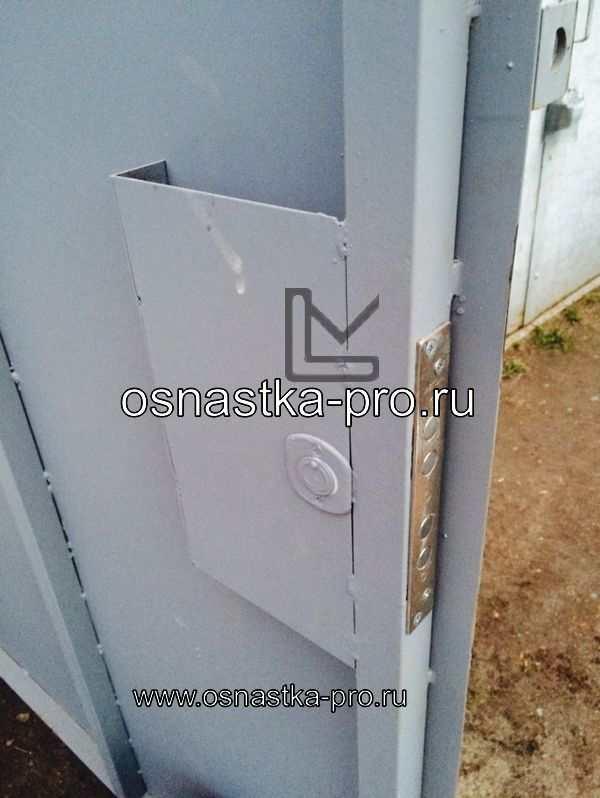 Ворота для склада распашные Санкт-Петербург