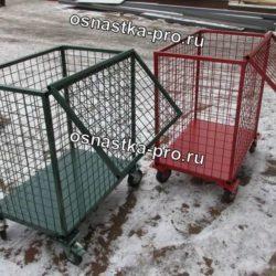 Cетчатые контейнеры и шкафы сетчатые на колесах