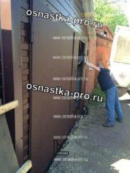 Фотографии ворот гаражных распашных