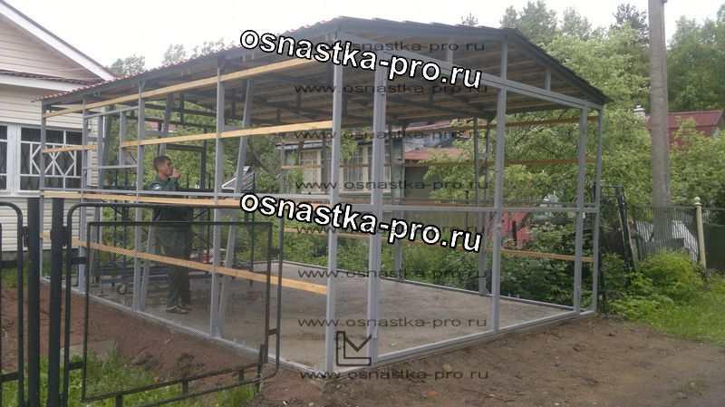 Каркасный дом из металла пошаговая инструкция