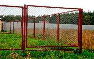 секционный забор из рабицы цена