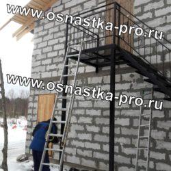 Лестницы металлические уличные Санкт-Петербург