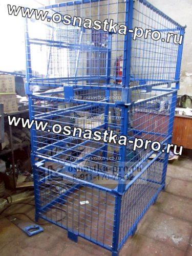 Ограждения для поддонов (паллет) изготовление Санкт-Петербург