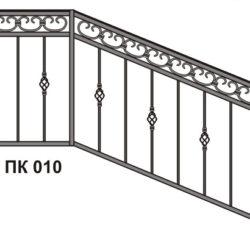 Перила для лестничных маршей жилых домов Санкт-Петербург
