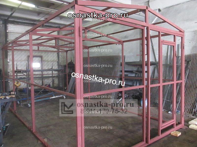 Каркас гаража из металлического профиля. Гараж из металлопрофиля