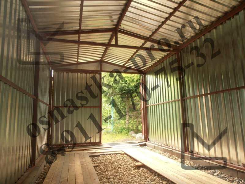 Построить кирпичный гараж под ключ цена