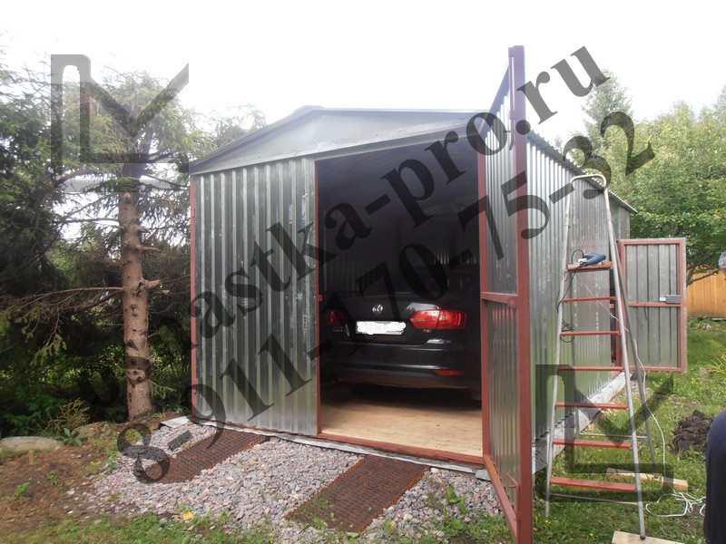 Купить металлический гараж