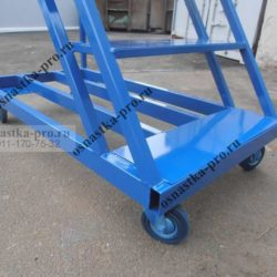 передвижная лестница- основание с колесами
