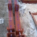 навесная площадка- опорные консоли