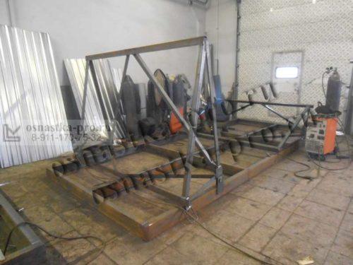 подмости каменщика - изготовление