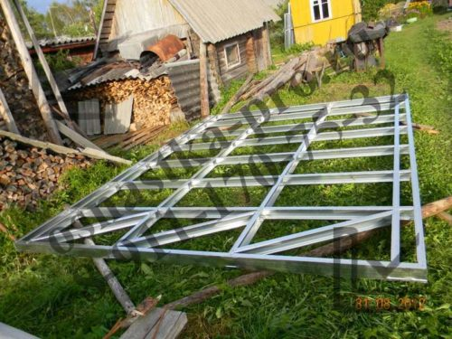 построить металлический каркас