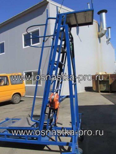 Лестница для обслуживания цистерн