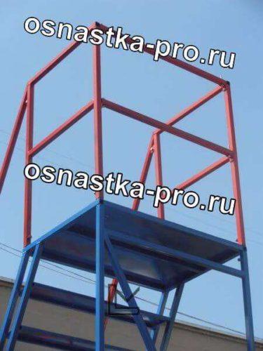 Передвижные лестницы стальные - подкатные лестницы стальные