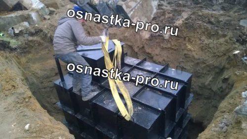 кессон для погреба металлический