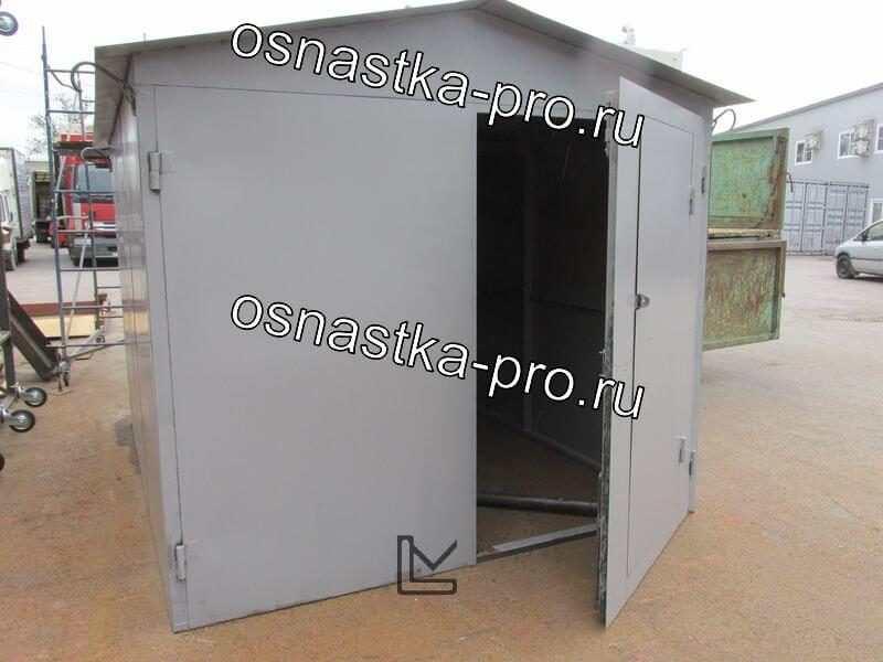 Гараж стальной усиленный: производство сборных стальных гаражей Санкт-Петербург