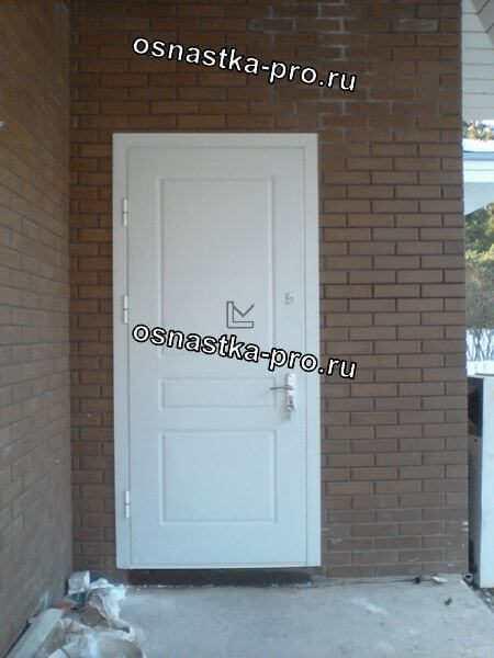 Дверь металлическая эконом