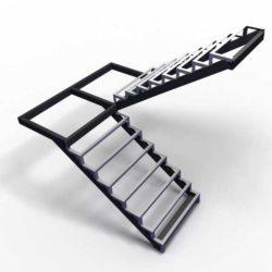 лестницы металлические уличные