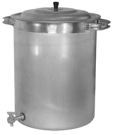 бак алюминиевый 40 литров с краном цена
