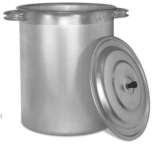 бак алюминиевый 40 литров пищевой