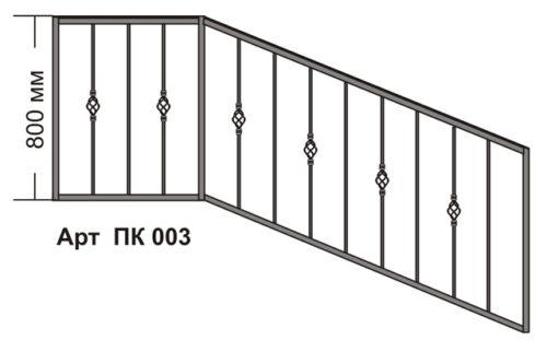 перила для лестничных маршей и лестничные ограждения