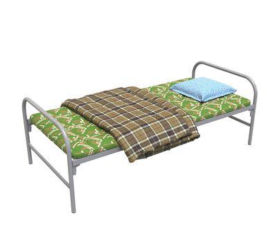 Кровать для рабочих металлическая