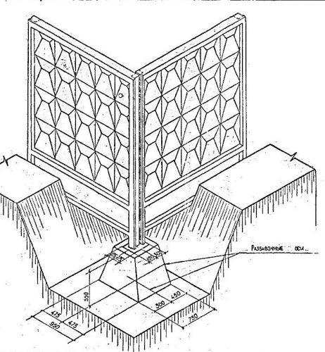 Металлоформы для заборов