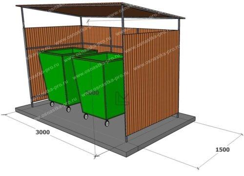 контейнерные площадки для мусора