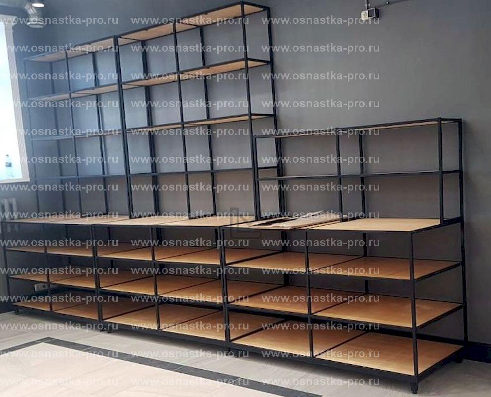 шкафы для магазина тканей