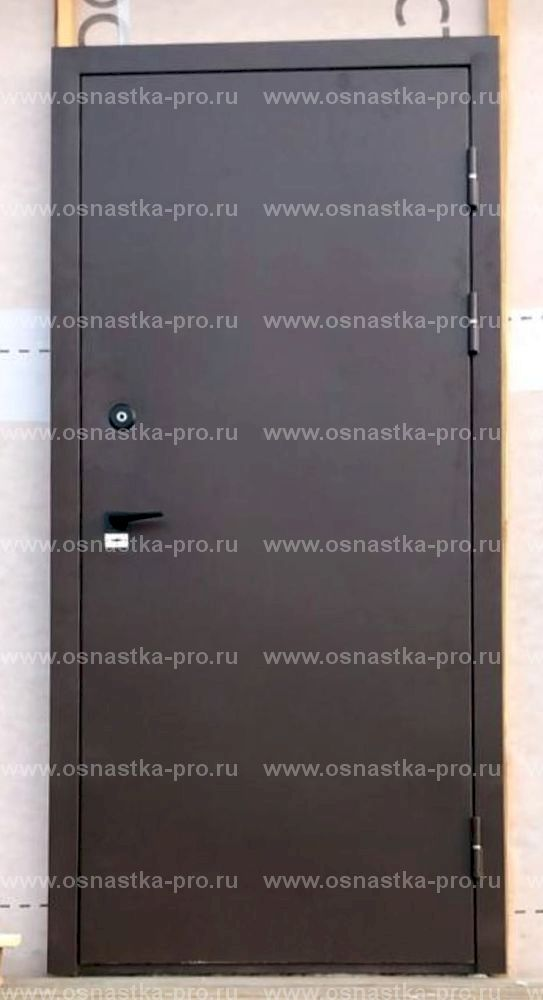 металлическая дверь эконом класса с установкой
