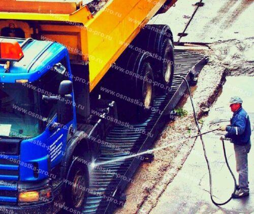 пункты мойки колес для стройплощадок