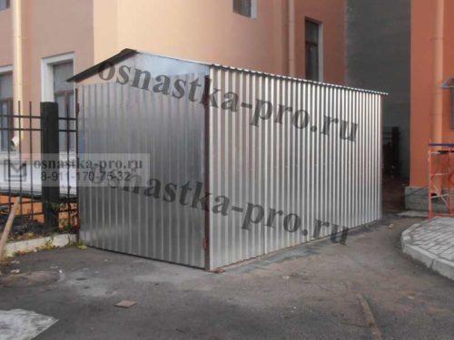 металлические гаражи и хозблоки