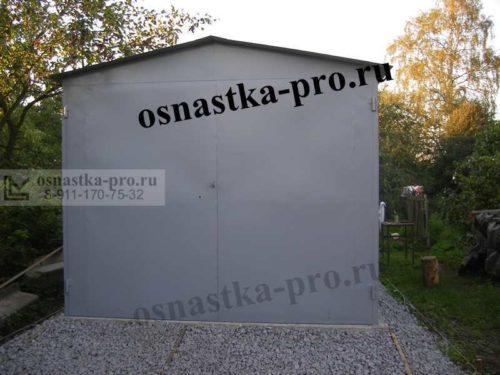 гараж для оборудования