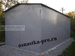 Металлоконструкции для дачи: гаражи, ворота