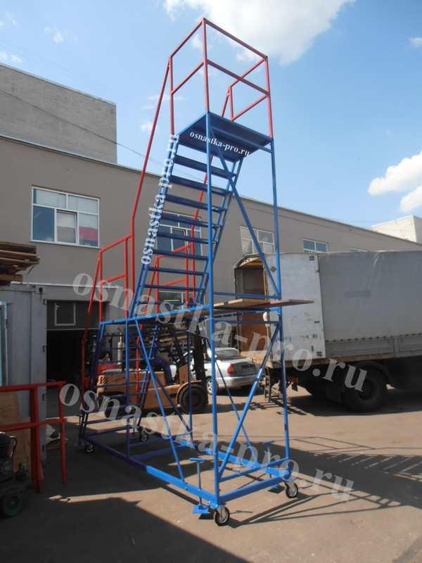Лестницы с одной площадкой