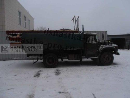 Доставка выносных площадок на грузовом автомобиле